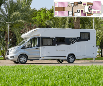 Tillie is a tourer for couples and family adventures